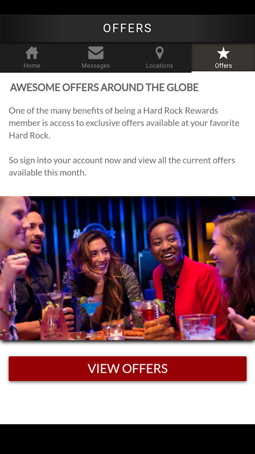 Hard Rock Rewards- screenshot