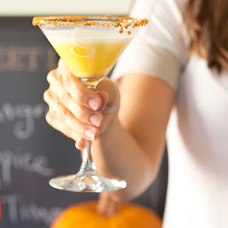 Pumpkin Cream Martini