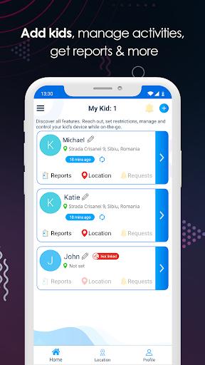 Parental Control : Screen Time & Location Tracker 1.7.9 screenshots 2