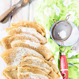 Matcha Green Tea Crepes Recipe