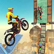 Desert Bike Stunts