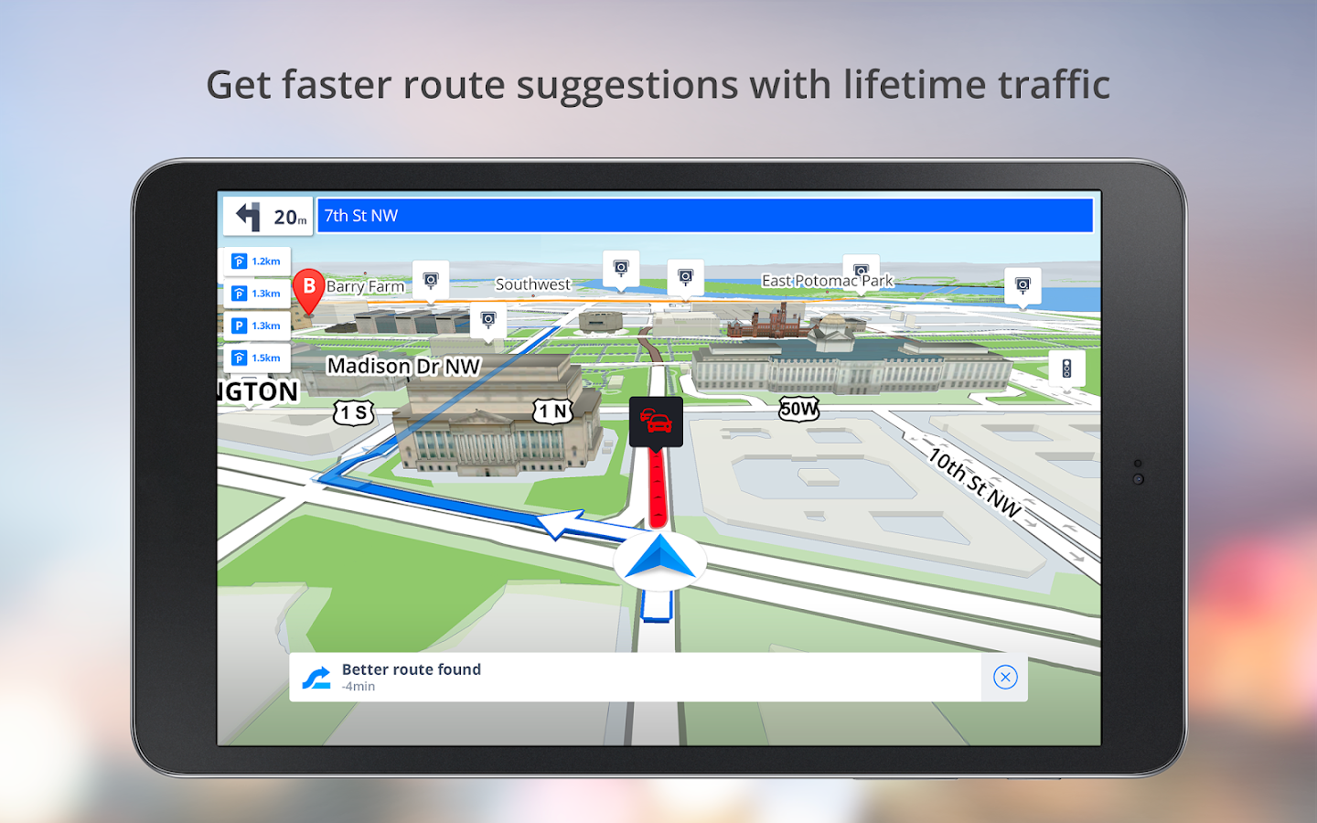 GPS Navigation - Drive with Voice, Maps & Traffic- screenshot