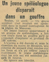 Photo: L'accident de 1954