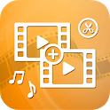 Merge Videos, Video Joiner icon