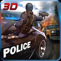 Police Car Hill Climb Driver icon