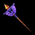 紫のプリンセスステッキA