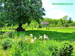 Photo: Le jardin romantique du domaine de Madame Elisabeth à Versailles - e-guide balade à vélo de Versailles à Meudon par veloiledefrance.com