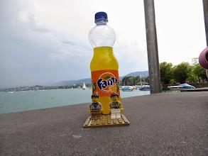 Photo: An orange Fanta in Zürich