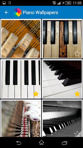 ピアノの壁紙