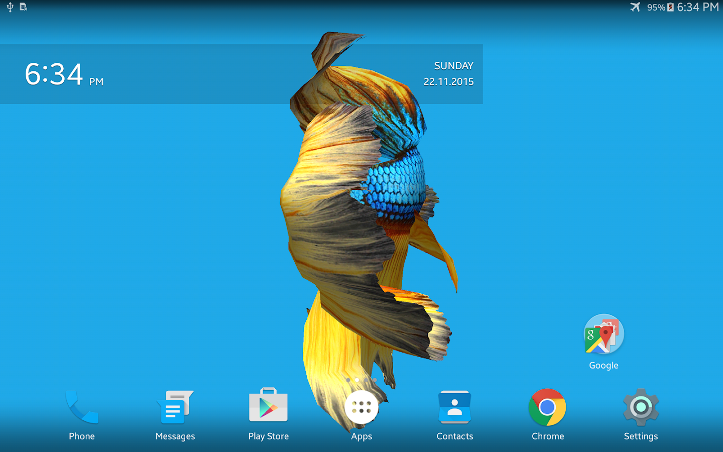 Betta fish 3d free android apps on google play for Betta fish game