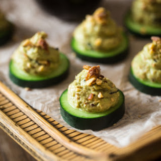 Healthy California Roll Sushi Bites {Gluten Free + Low Carb}.