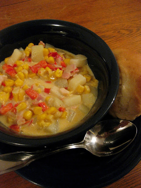 Sweet Corn Chowder Recipe