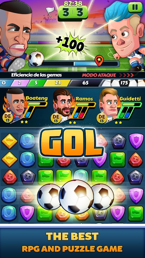 La Liga Puzzle Quest- screenshot