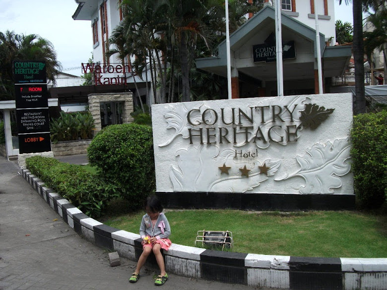 Front page of Country Heritage Resort Hotel