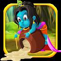 Krishna Makhanchor Fun on Dahihandi with Coconut icon