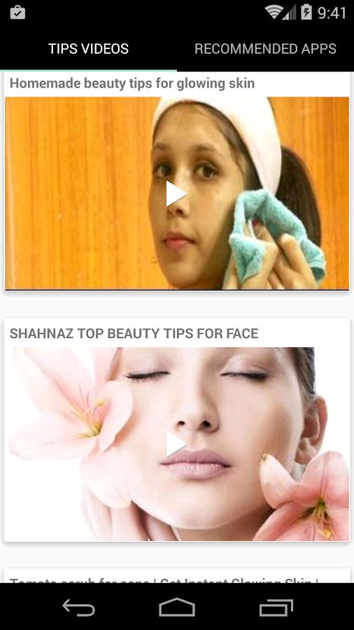Beauty Tips For Face English Screenshot