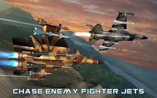 US Air Force Military Pilot Sky Battle 3D filehippodl screenshot 6