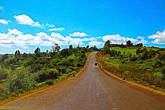 Photo: Kenyan countryside (from Eldoret to Nairobi)