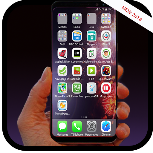 App Insights: OS 11 launcher for iphone 8 HD | Apptopia