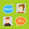 Friends Online Finding Advice icon