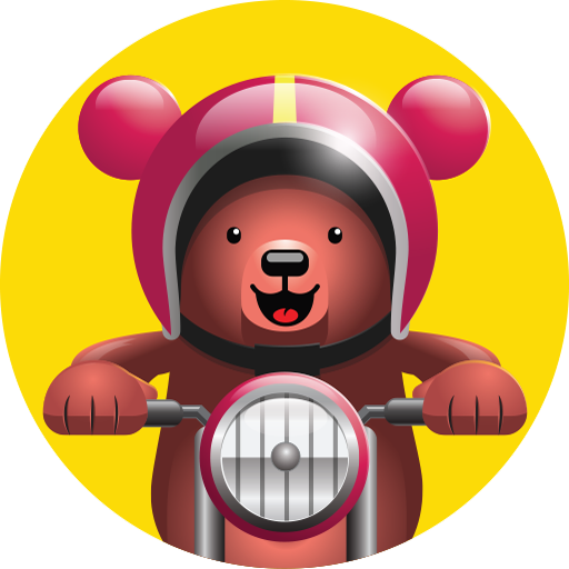 Excite Bear – Animal Bikers (game)