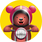 Excite Bear – Animal Bikers icon