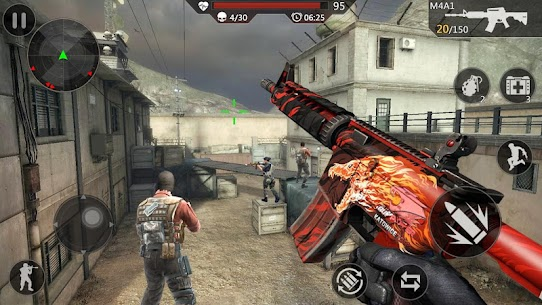 Critical Action: Gun Strike Ops- juego de disparos 5