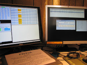 Photo: V/UHF FM station running TM-742 remote head and N1MM+