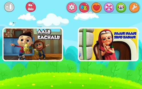 Hindi Top Nursery Rhymes - Offline Videos & Songs- screenshot thumbnail