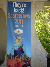 Photo: Banner advertising the Scarecrows