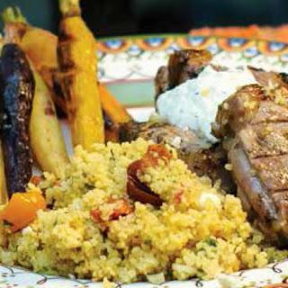 Grilled Greek Lamb Loin Chops