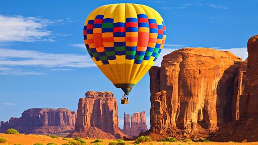 Hot air balloons.LiveWallpaper