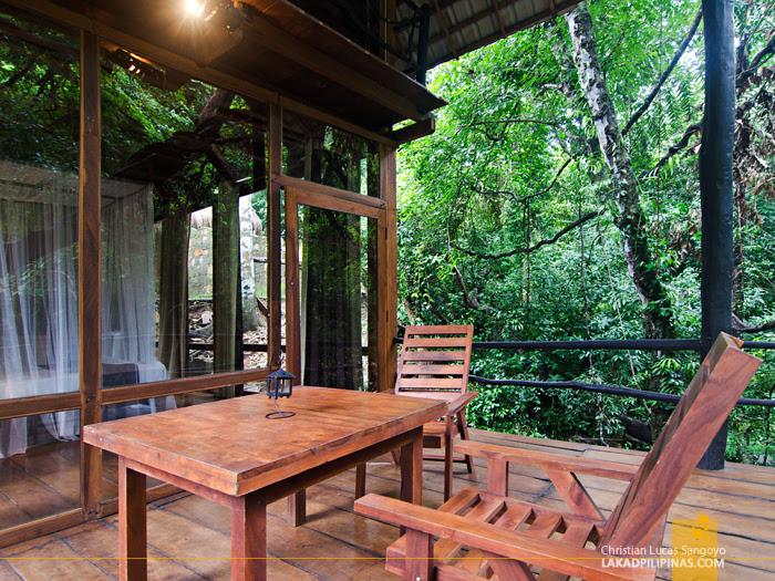 Ella Jungle Resort Sri Lanka Chalet Balcony