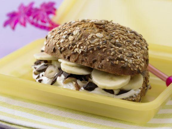 Banana-Quark Sandwich Recipe