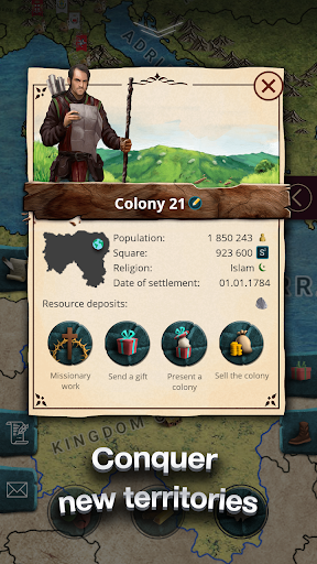 Europe 1784 - Military strategy 1.0.24 Screenshots 3