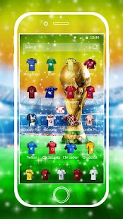 Theme football jersey golden screenshot 2