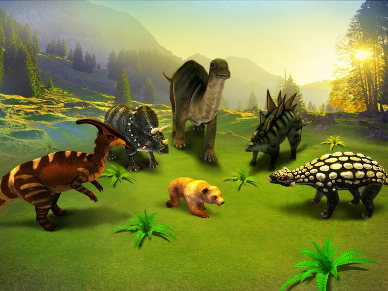 Big Dinosaur Simulator: Hunter- screenshot