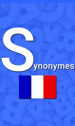 Synonyme français