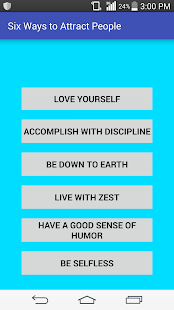 Six Ways to Attract People - náhled