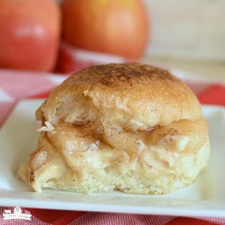 Caramel Apple Cheesecake Sliders Recipe