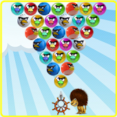 Angel Birds Bubble Shooter