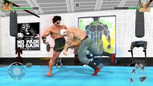 Bodybuilder Fighting Club 2019: Wrestling Games 1.1.4 screenshots 3