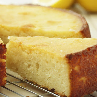 Sticky Lemon Cake.