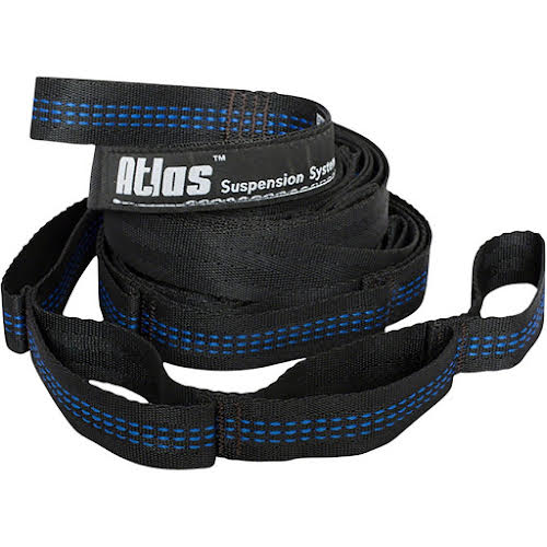 Eagles Nest Outfitters Atlas Straps 9ft. Charcoal/Royal Blue Pair