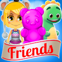 Candy Bears Friends icon