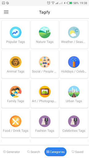 Tagify -  Best Hashtags for Instagram ss1