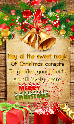 Merry Christmas Greetings wish