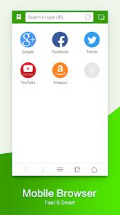 Webový prohlížeč & Explorer - náhled
