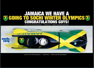Photo: El equipo jamaicano de bobsleigh