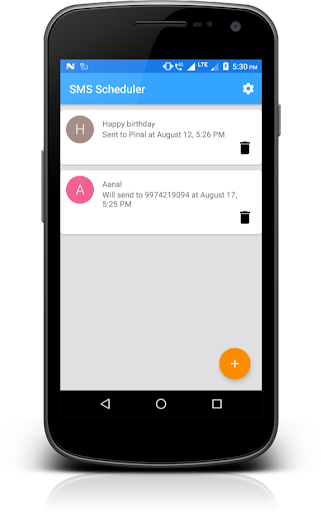 SMS Scheduler with Multiple Language screenshot 1